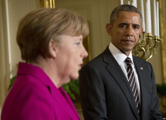 Меркель уговорила Обаму