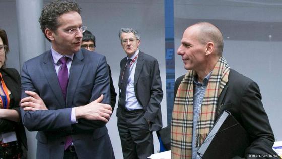 Министр финансов Греции Варуфакис и его шарфик