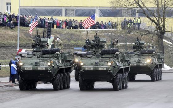 НАТО у самых границ