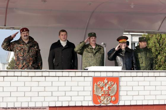 Дмитрий Саблин в 46-й бригаде