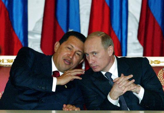 Покойный Чавес делится идеями