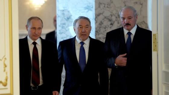 Путин в Астане