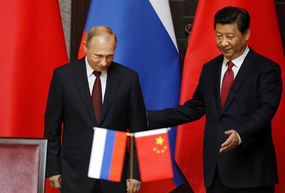 Путин с Китайцем братья на век