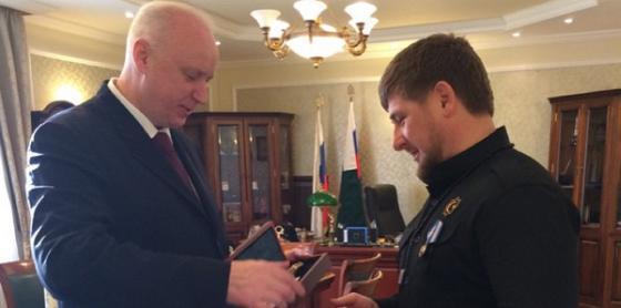 Бастрыкин и Кадыров были друзьями