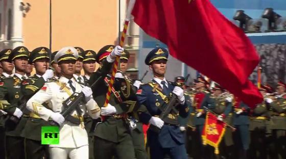 Китайцы на Красной площади