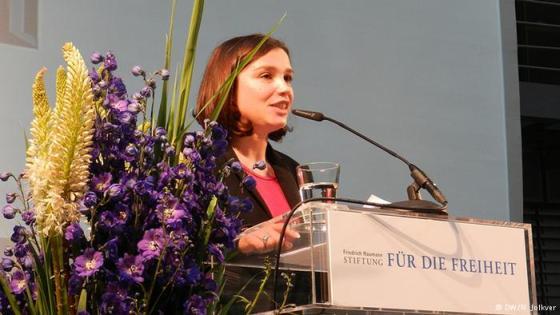 Жанна Немцова в Берлине