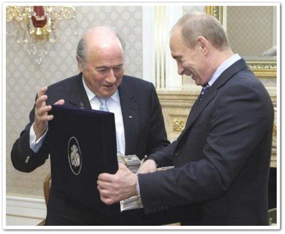 Блаттер и Путин