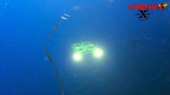 Подводный телеуправляемый аппарат