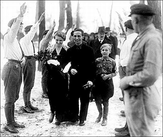 Свадьба Магды и Йозефа Геббельса