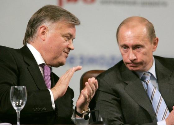 Якунин и Путин