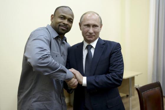 Американский боксер и Путин