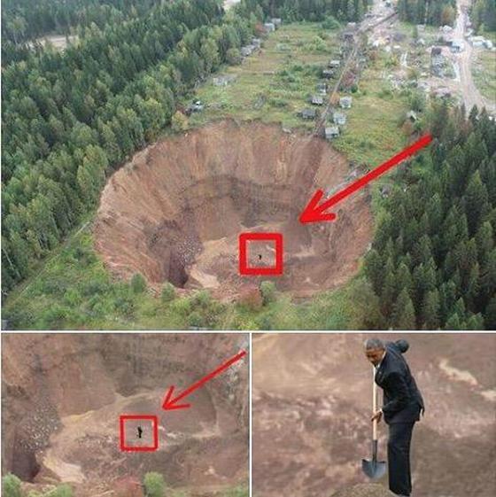 Обама роет яму России