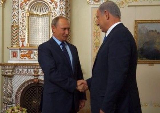 Нетаниягу и Путин