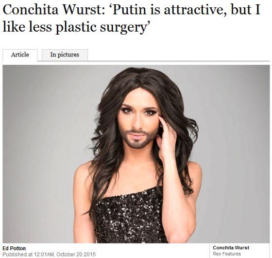 Putin is attractive
