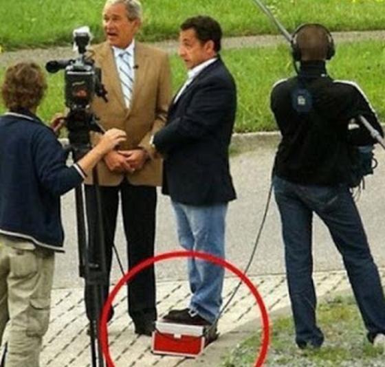 Саркози на подставке 2