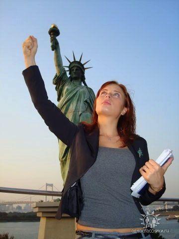 Мария Моргун в Нью-Йорке