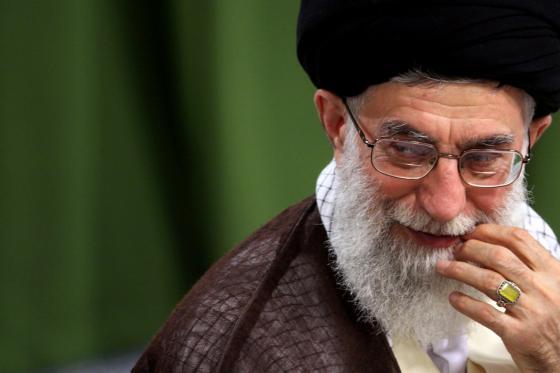 Духовный Лидер Ирана аятолла Хаменеи