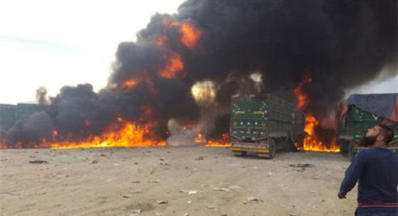 Авиация Путина разбомбила турецкий гумконвой в Сирии