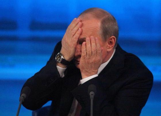 Путин прячется от Эрдогана