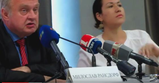 Милослав Рансдорф в Крыму