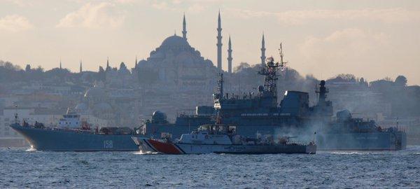Стамбул, Босфор, ПЗРК и конвенция Монтре