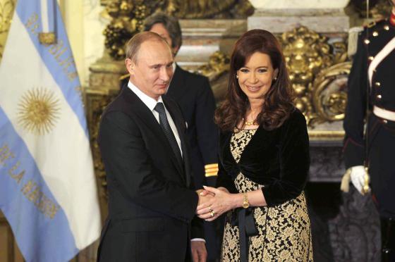 Путин и Киршнер