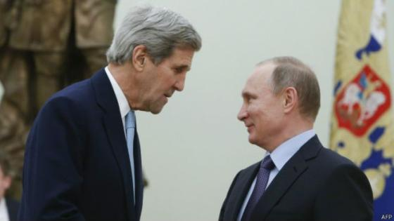 Керри и Путин