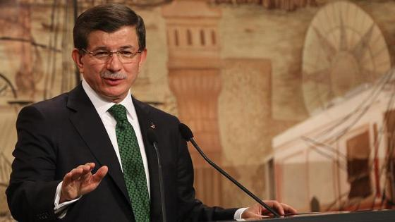 Премьер-министр Турции Давутоглу