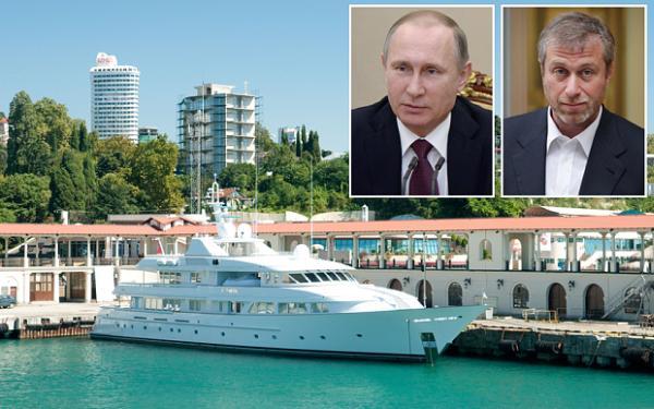 Скромная яхта Путина $37 млн