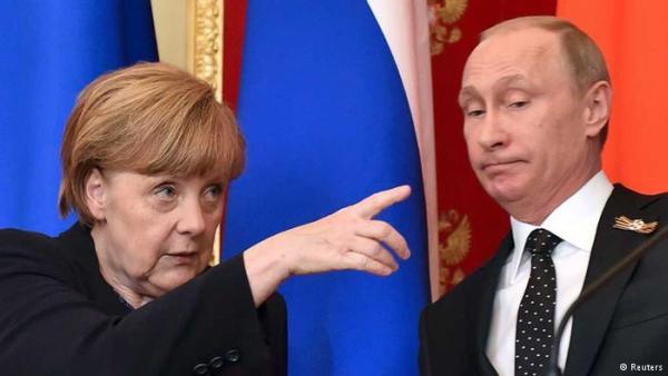 Меркель показала Путину его место