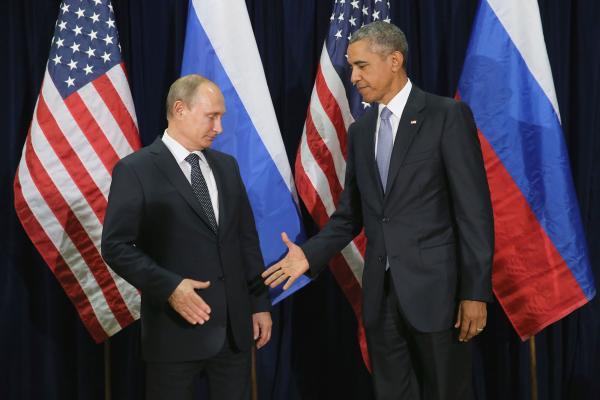 Путин и Обама в ООН