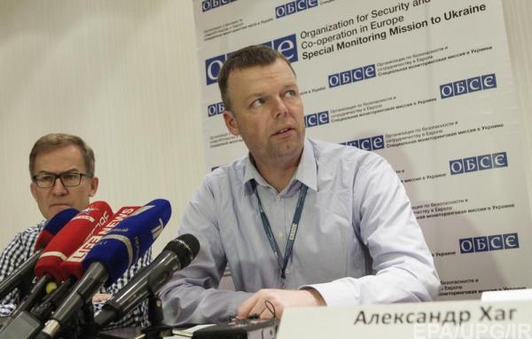 Брифинг ОБСЕ в Донецке