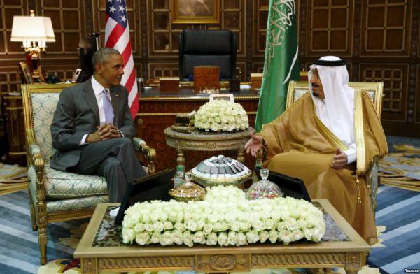 Обама и Король