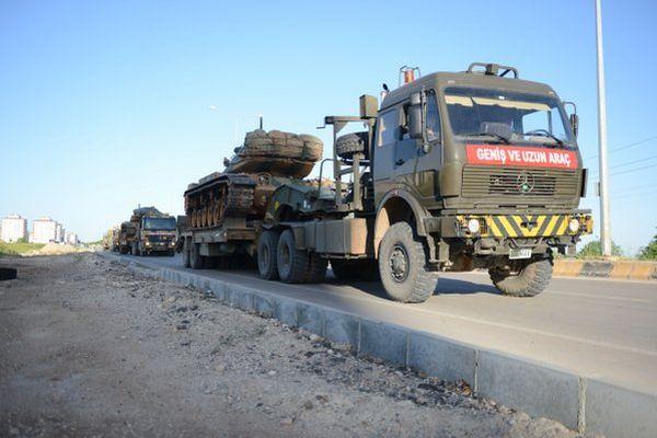 К сирийской границе
