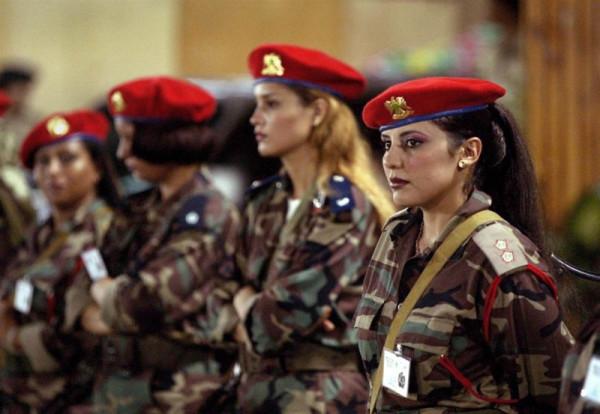 Женская гвардия Муамара Каддафи