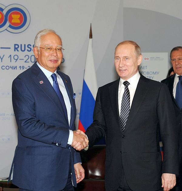 Премьер Малайзии и Путин