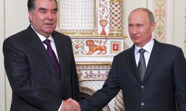 Рахмон и Путин