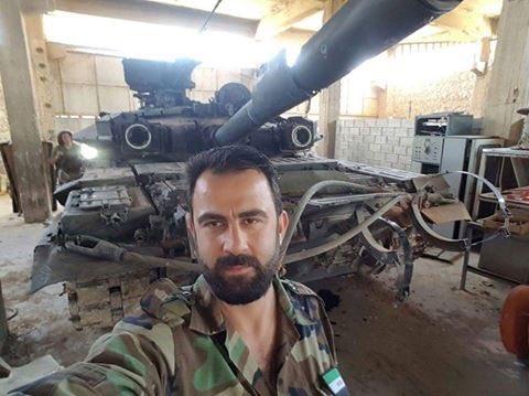 Отжали танк Т-90