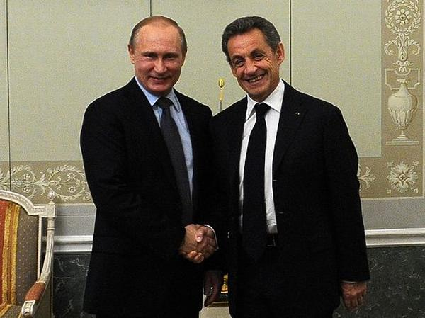 Саркози и Путин