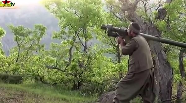 Курдские террористы похвастались