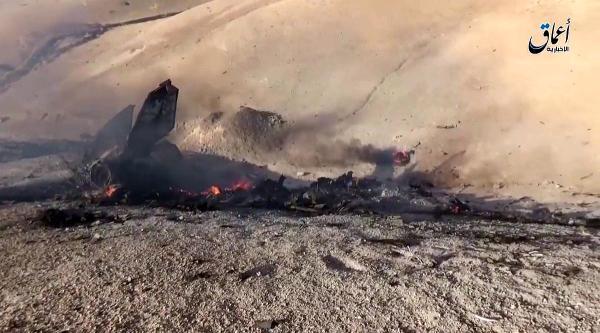 МиГ-23 сгорел