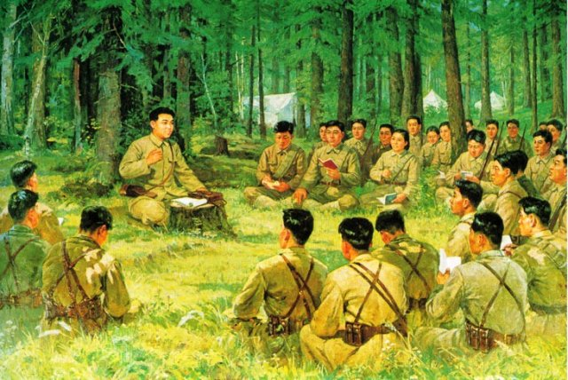 Чучхейские военные мысли