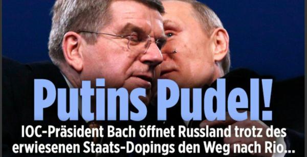 Putins Pudel