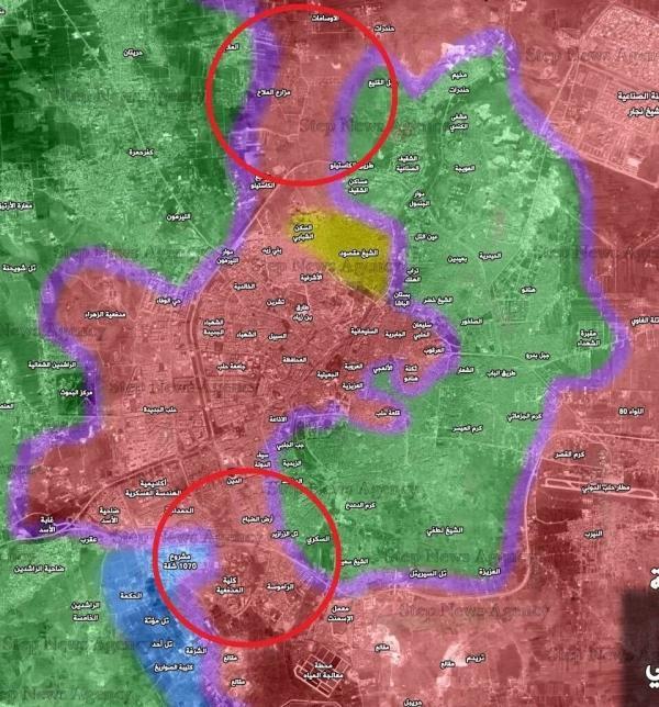 Окружение Алеппо