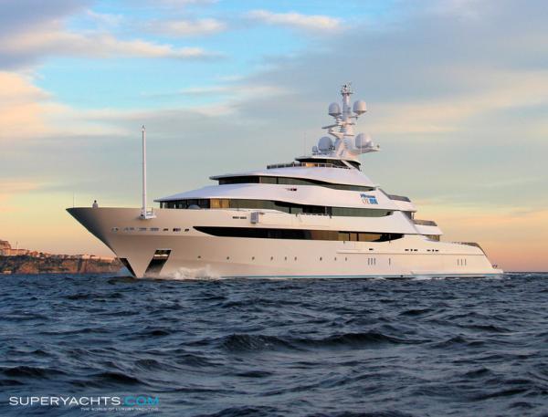 Яхта Сечина
