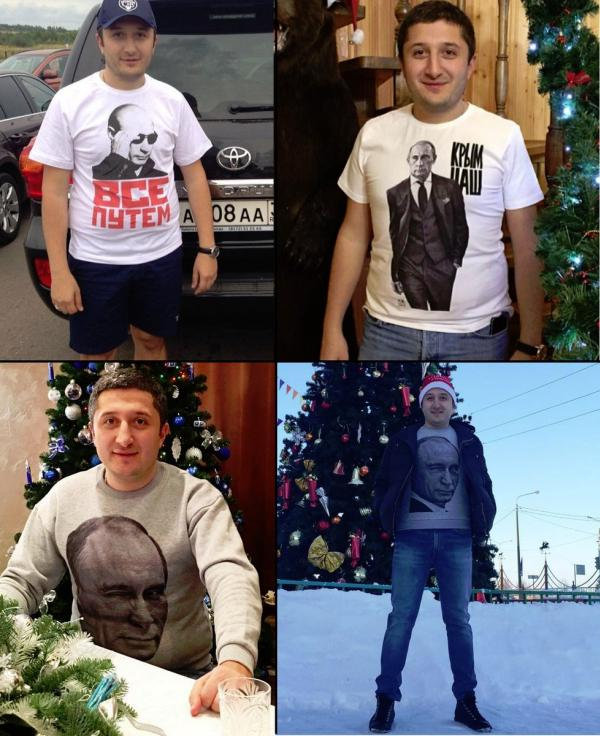 Он любил Путина