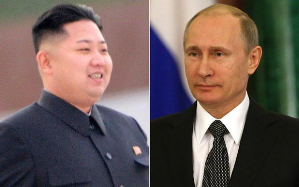 Путин поздравил Кым Чен Ына