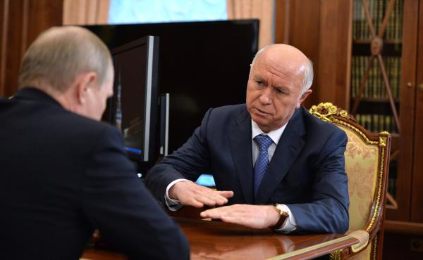 Путин и Меркушкин