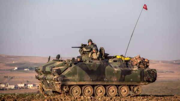 Турки вторглись в Сирию