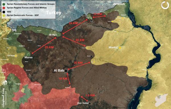 Северо-запад Сирии мин